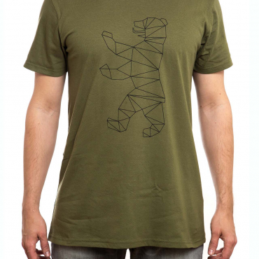 T-Shirt | Berliner Bär | men | olive
