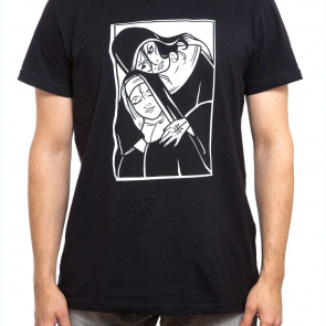 T-Shirt | nonne | men | schwarz