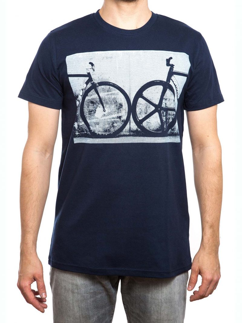 T-Shirt | Fixie | men | navy blau