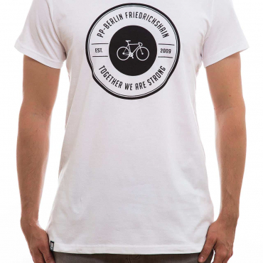 T-Shirt | strong bike | men | weiß