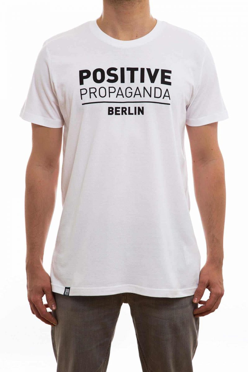T-Shirt | PP-Typo | men | weiß