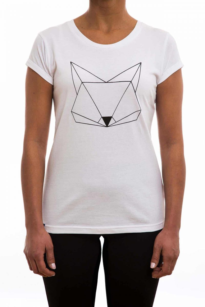 T-Shirt | Fuchs | women | weiß